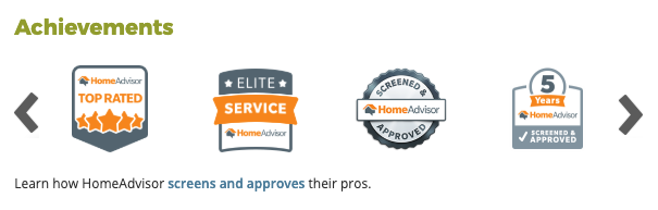2019 Home Advisor Award Winner test